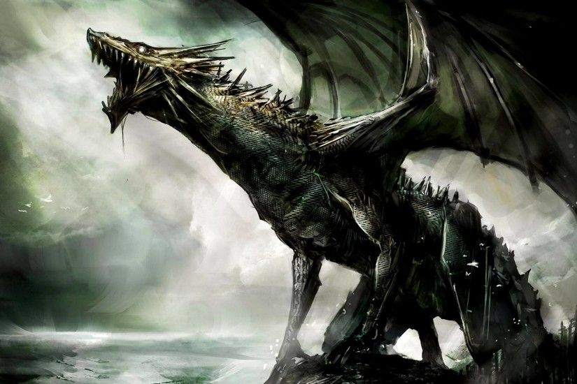 Dragon (Illustration) - Mythical Creatures Wallpaper