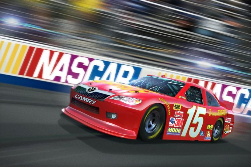 Preview wallpaper nascar, race, 2015, art 1920x1080