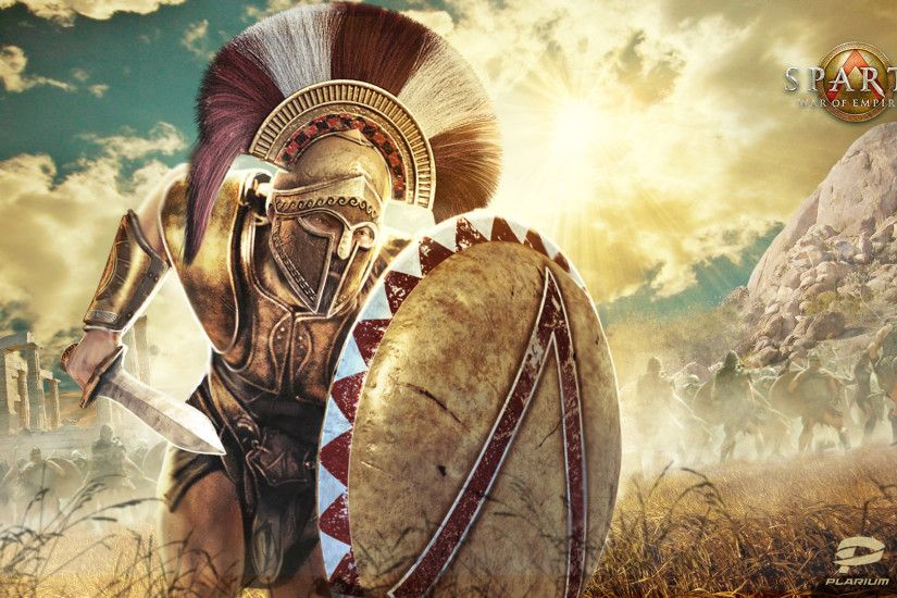 "Wallpaper from ""Sparta: War of Empires® "" a Facebook based social game and  a competitive Massively Multi-player Real Time Strategy Game (MMORTS) b…"