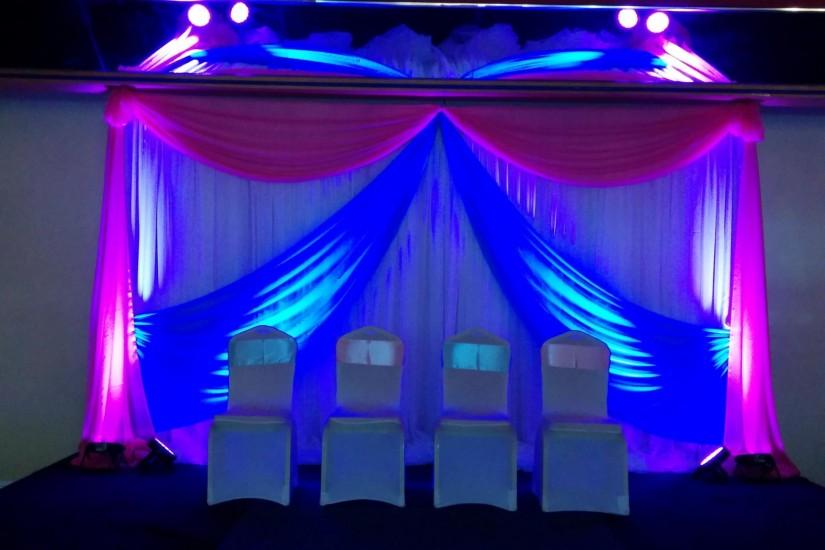 Full Size of Curtains:picture And Fabric Royal Blue Stage Curtains Curtain  With Gold On ...