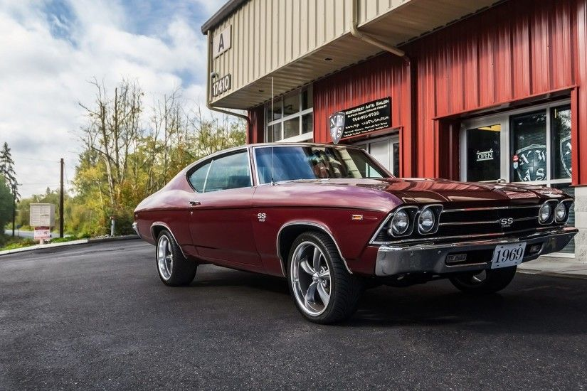 Chevrolet Chevelle SS 1969 Classic Sports Car 4k UHD Car Wallpaper