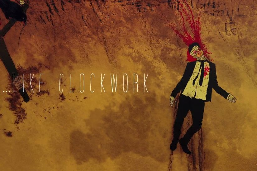 ... Queens of the Stone Age Like Clockwork wallpaper by Soviet5000