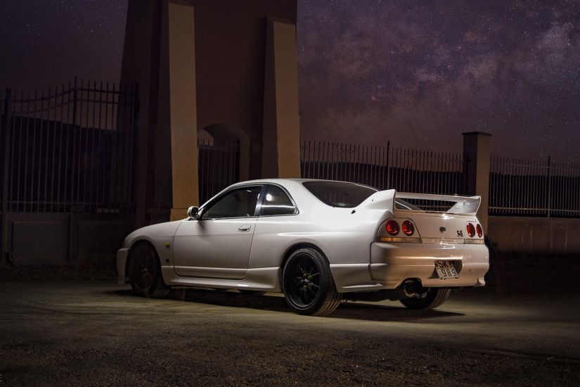 Nissan Skyline R33 GT-R Wallpaper 1920x1080