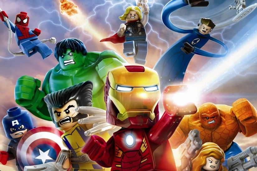15 LEGO Marvel Super Heroes HD Wallpapers | Backgrounds - Wallpaper Abyss