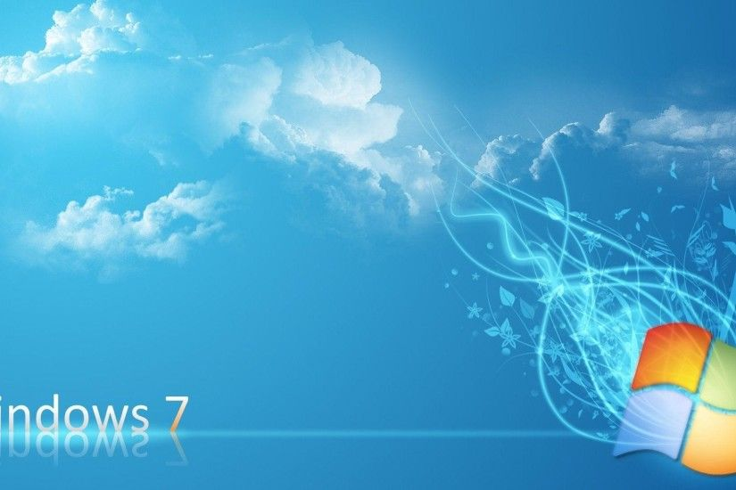 Windows 7 Wallpapers Hd Download Blue Sky Imag #5560 Wallpaper .