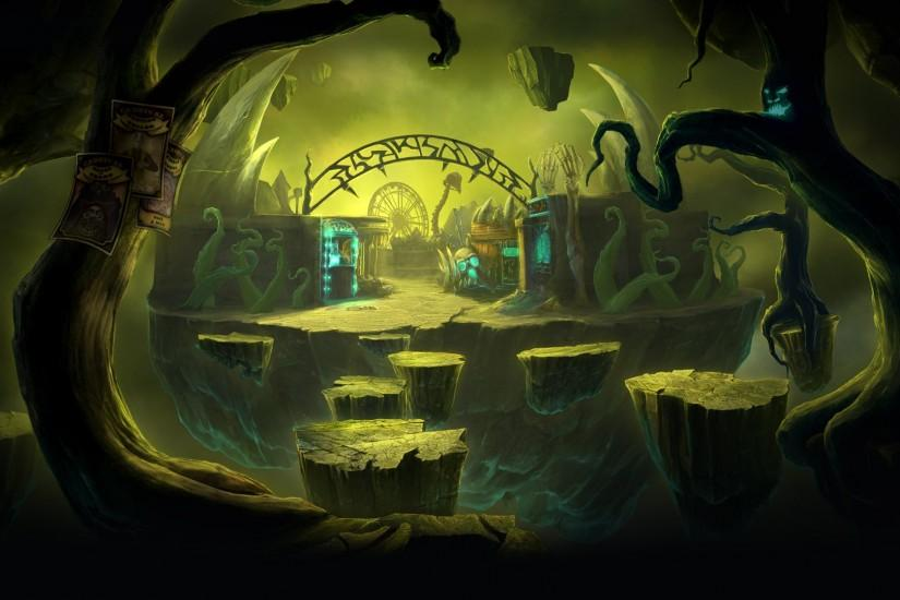 File:Dark Arcana The Carnival Background Youre barking up the wrong tree.jpg