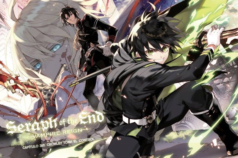 Cool Owari no Seraph Wallpaper by qhina chan