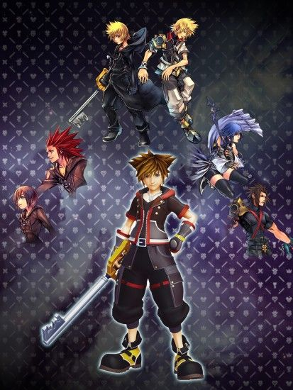 ... Kingdom Hearts iPad wallpaper: key to many hearts by judah2x0