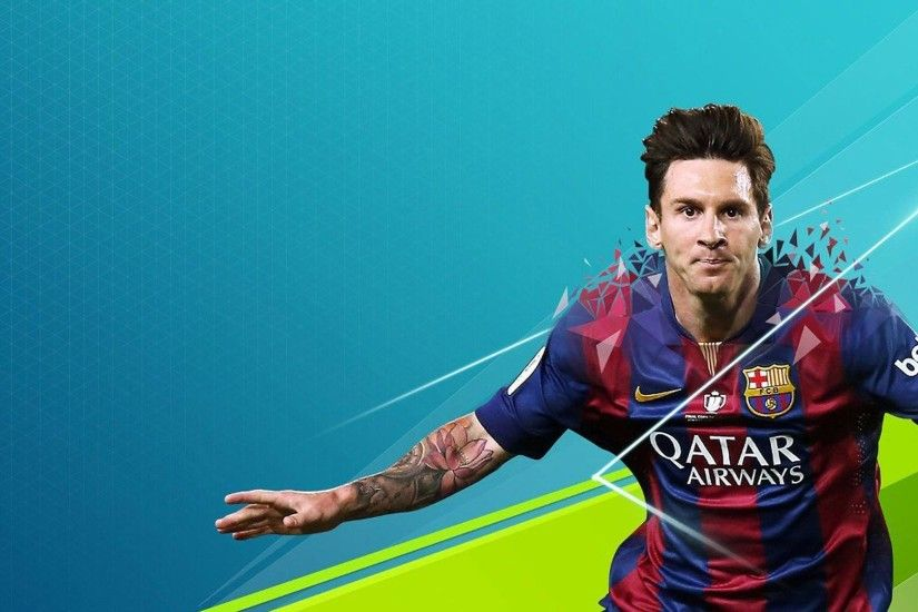 Lionel Messi wallpaper photo hd blue background