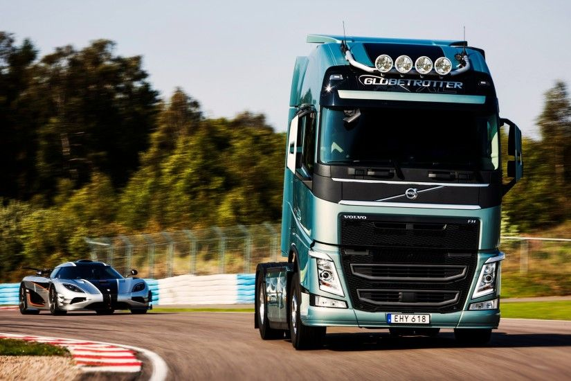Volvo Truck And Car · Volvo Truck And Car Wallpaper