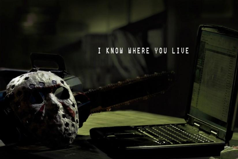 wallpaper digital art · artwork · Jason Voorhees