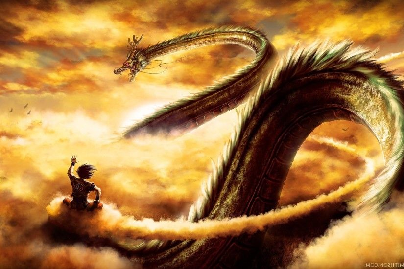 Dragon Ball, Dragon Ball Z, Shenron, Son Goku Wallpapers HD / Desktop and  Mobile Backgrounds