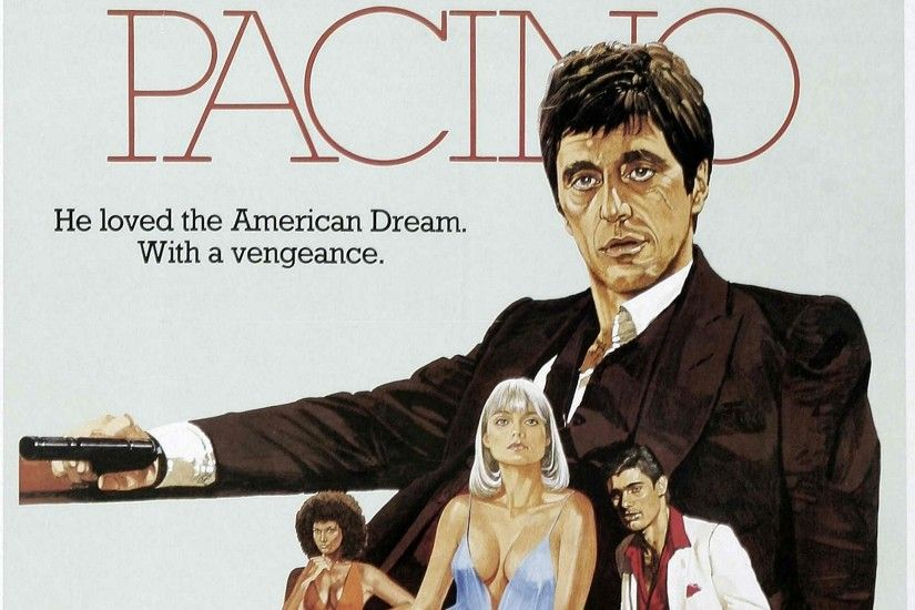scarface themed wallpaper for desktops - scarface category