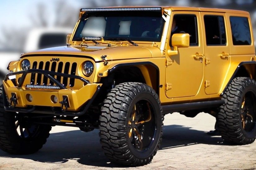 Customized Jeep Wranglers