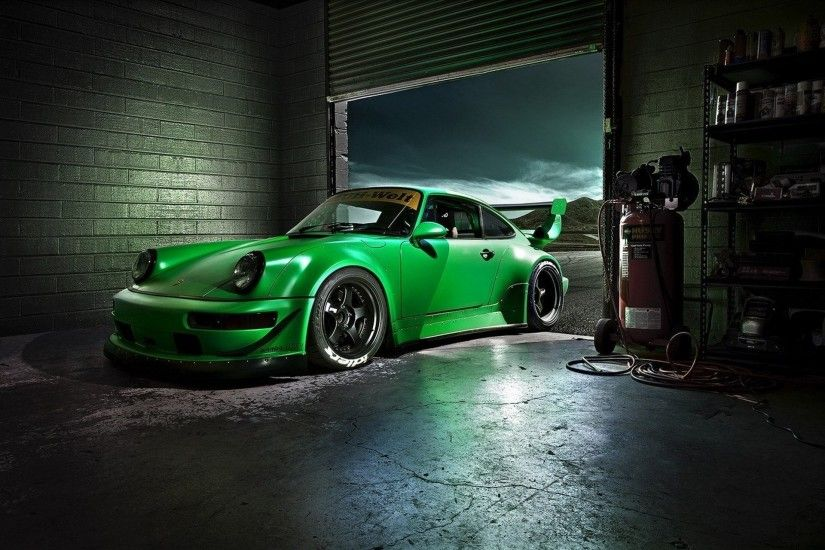 car wallpapers green porshche carrera rs rwb beautiful desktop vehicles  wallpapers green porsche carrera rmb beautiful