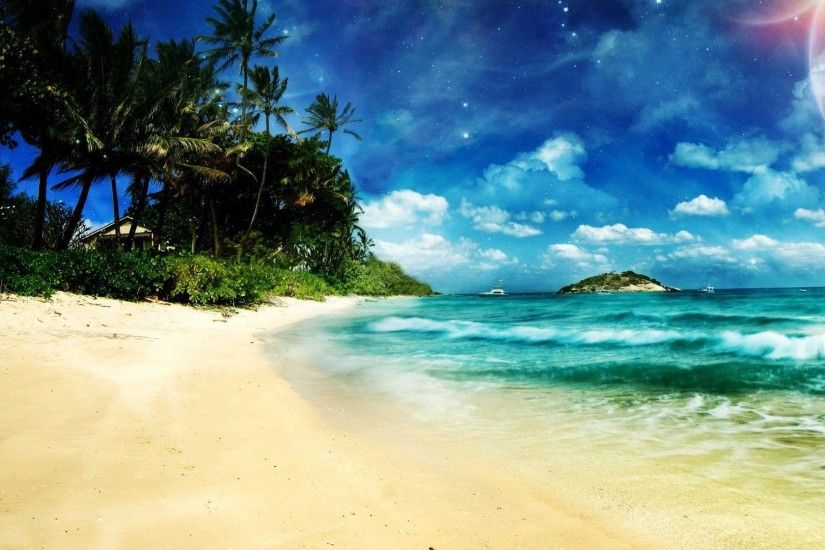 Cool Wallpapers Nature Beach