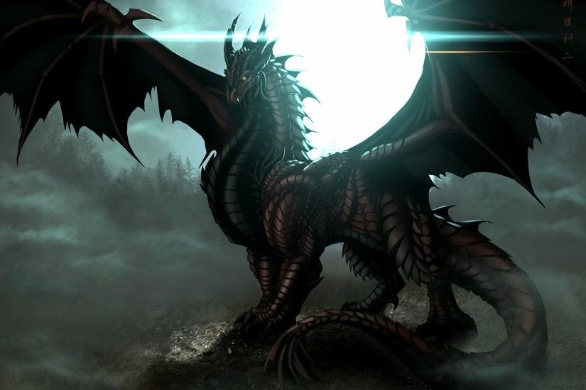 1920x1352 ... dark dragon wallpaper wallpapers browse .