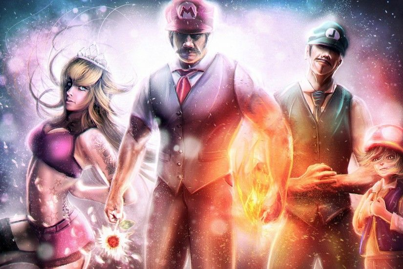 video Games, Super Mario, Luigi, Realistic, Princess Peach Wallpapers HD /  Desktop and Mobile Backgrounds