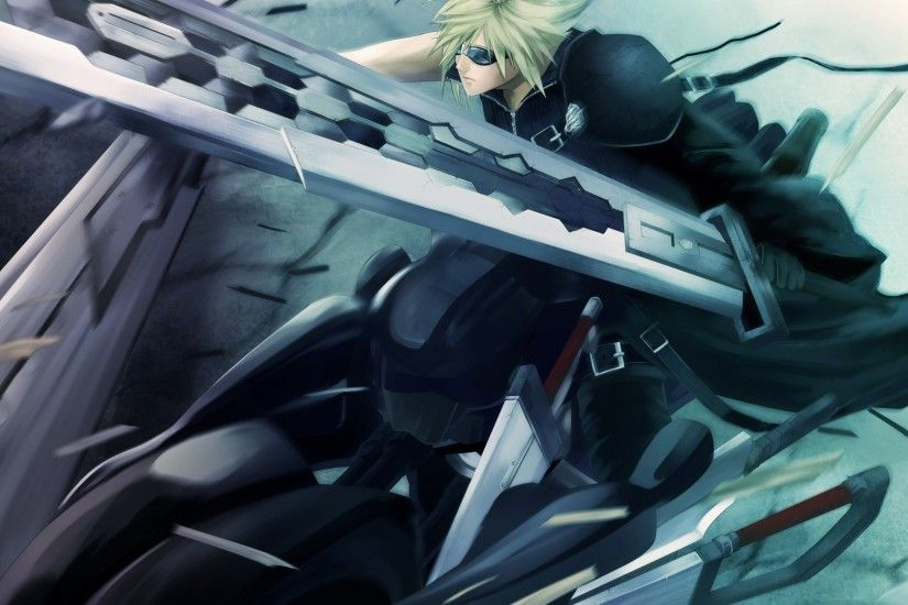 final fantasy 7, advent children, anime