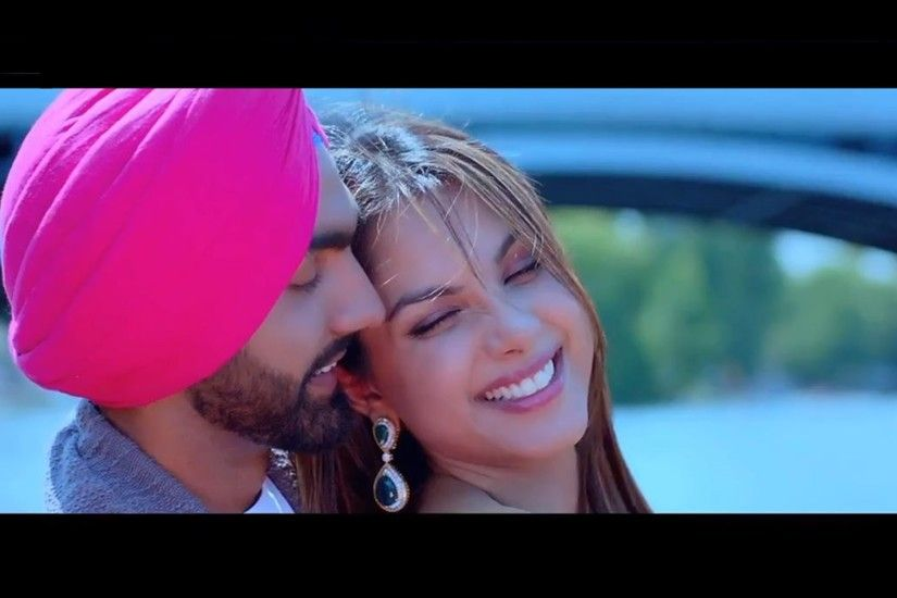 Sat Shri Akal England Movie Beautiful Punjabi Couple Ammy Virk And Monica  Gill Wallpapers