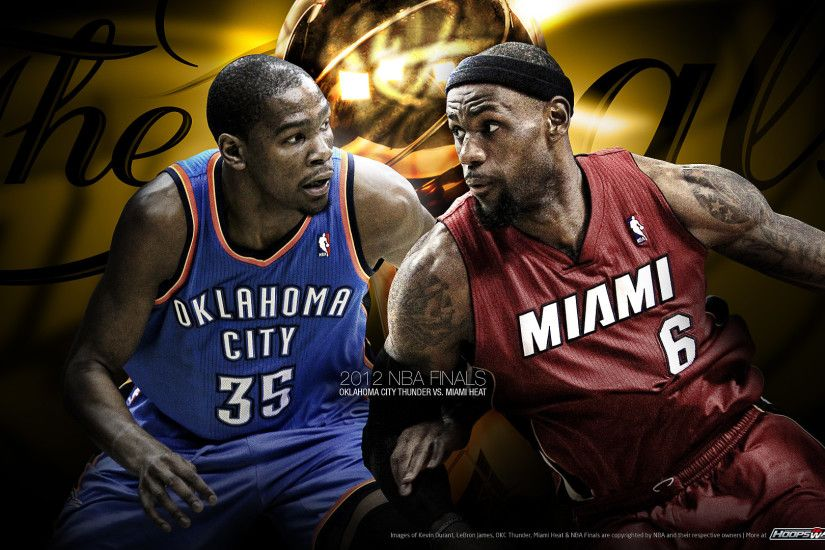 NBA Finals Picture - LeBron James and Kevin Durant, Heat and Thunder, Who is