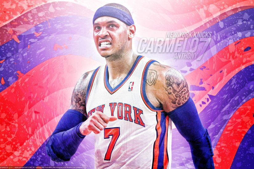 Carmelo Anthony New York Knicks 1920×1200 Wallpaper