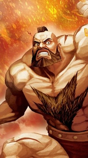 1440x2560 Wallpaper street fighter x tekken, zangief, fighter, hands,  muscles