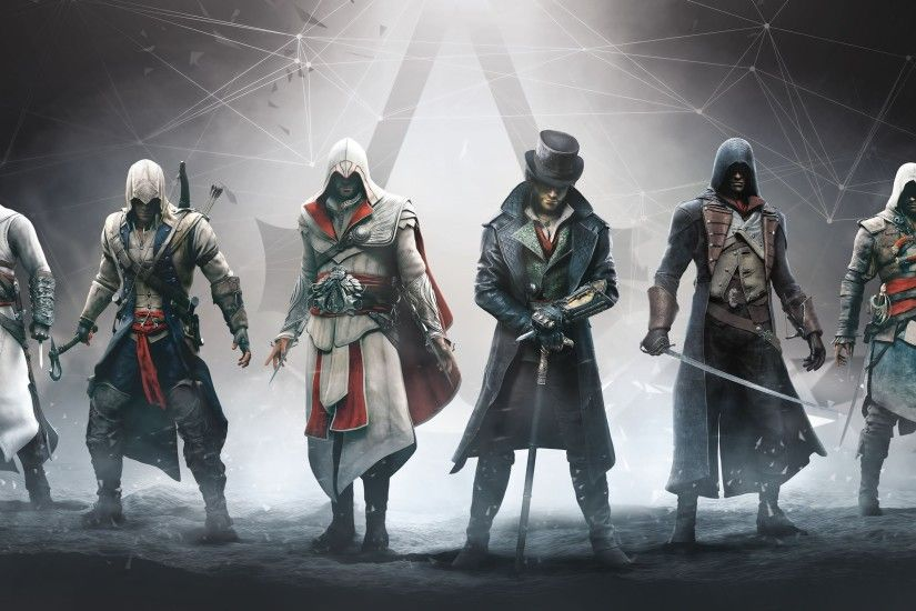 Assassin's Creed - 6 Legendary Assassins (Altair, Ezio, Connor, Edward,  Arno and Jacob) - YouTube