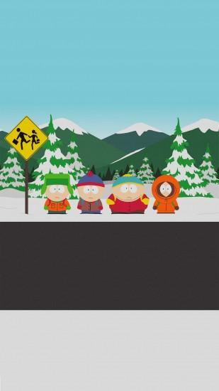 south park wallpaper 1080x1920 screen