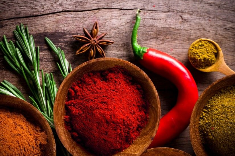 Food - Herbs and Spices Wallpaper