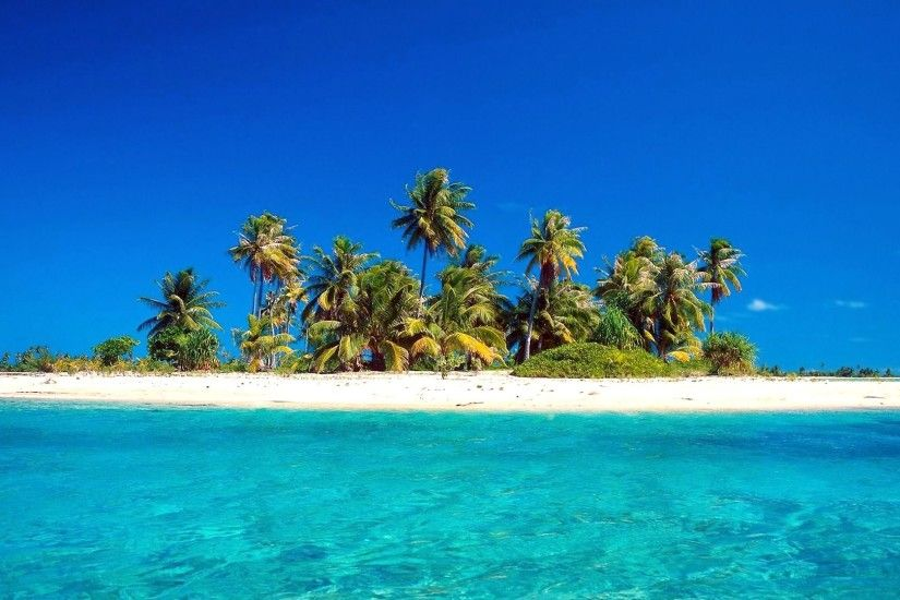 1920x1200 Tropical Island Background wallpaper - 509713