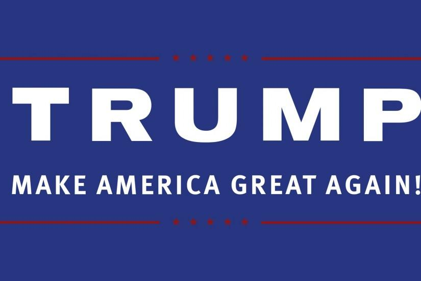 Trump | Make America Great Again 1920x1080 Wallpaper ...