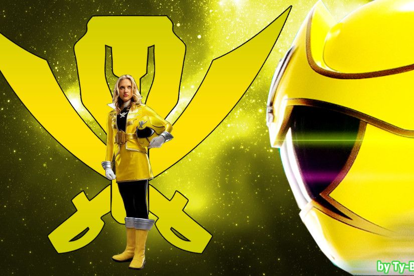Super MegaForce Yellow Ranger - WallpaperHD-001 by Super-TyBone82