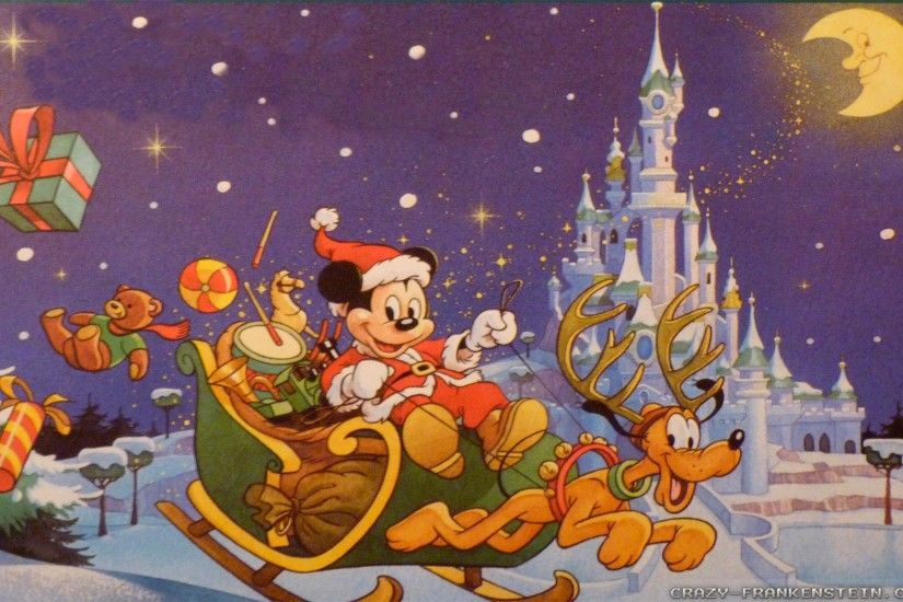 ... Disney Christmas Wallpaper disney micky at christmas night wallpapers  1920x1200 ...