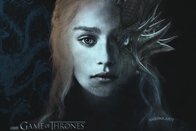 ... Daenerys Game of Thrones Wallpaper 1920x1080 by Iskierka0