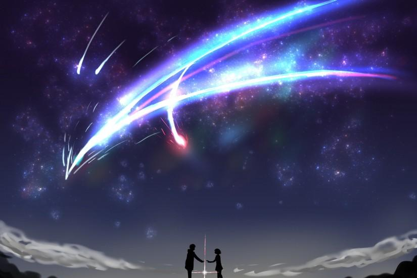 kimi no na wa wallpaper 2400x1824 for 4k monitor