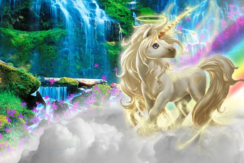 Rainbow Unicorn Desktop Background wallpapers HD free - 581513