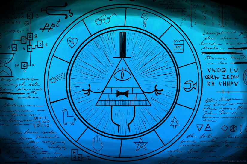 ... Bill Cipher Wheel Part 5 by Marijane-Akuma