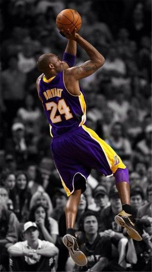 NBA Super Star Brant Kobe Show iPhone 6 wallpaper