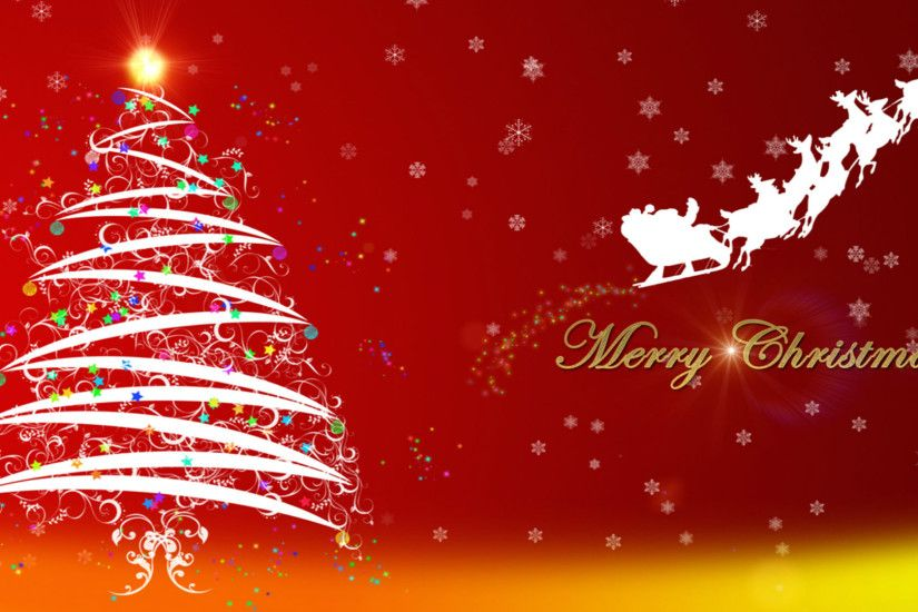 Christmas Background Hd Wallpaper