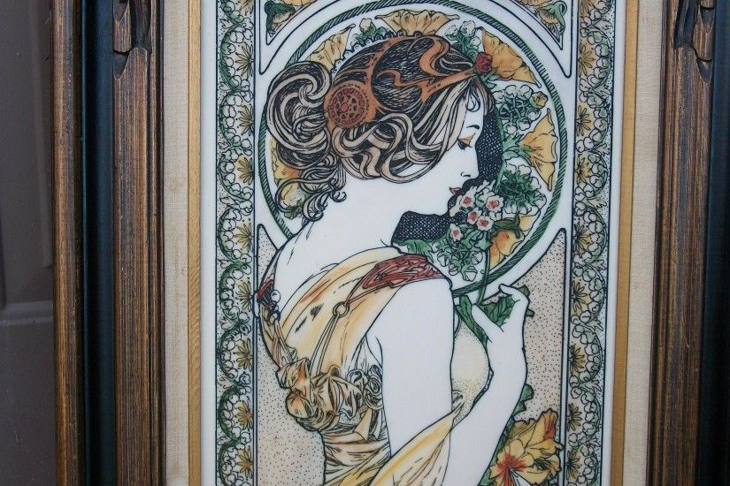 Alfons Maria Mucha images BEAUTIFUL Mucha pt.2 - is it real? HD wallpaper  and background photos