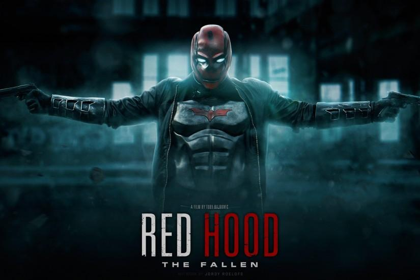 RED HOOD THE FALLEN - Wallpaper 1080P by visuasys on DeviantArt