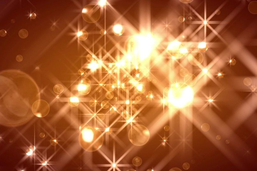 'FlOrbs' - Glamorous Golden Christmas Motion Background Loop_Sample2