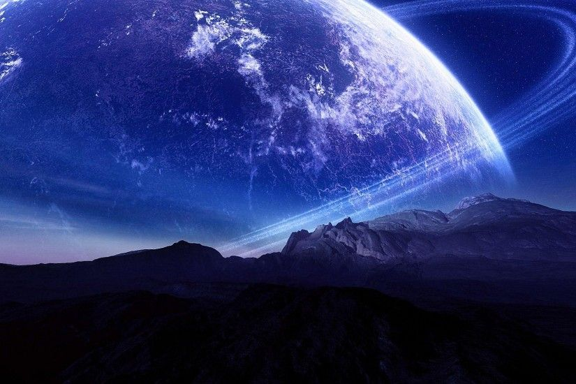 cool blue planet HD wallpapers