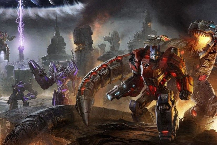 8 Transformers: Fall Of Cybertron Wallpapers | Transformers: Fall .