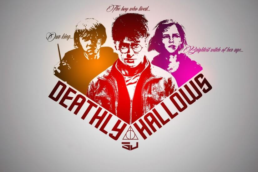Deathly hallows wallpaper by sj by Sjstyles316