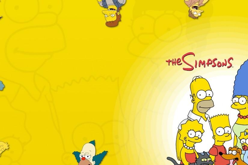 large simpsons wallpaper 1920x1080 for hd 1080p