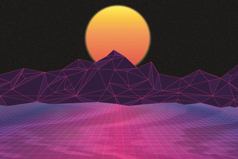 vaporwave background 1921x1080 for iphone 6