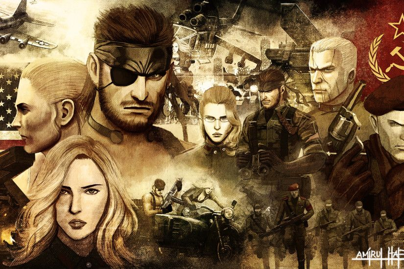 johnjoseco 2,994 496 METAL GEAR SOLID 3 SNAKE EATER POSTER by amirulhafiz