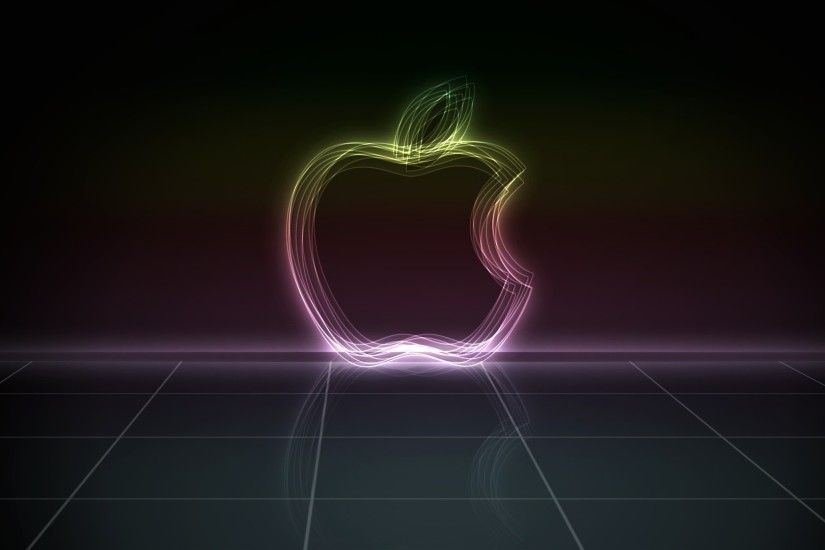 3D Apple Abstraction | 1920 x 1080 ...